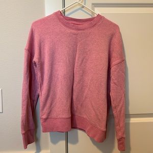 Madewell Miles Pink Sweatshirt